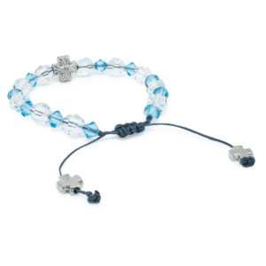 "Glorious Swarovski Crystal Prayer Bracelet ""Angel"""